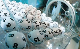 Lotto Ziehungsgerät